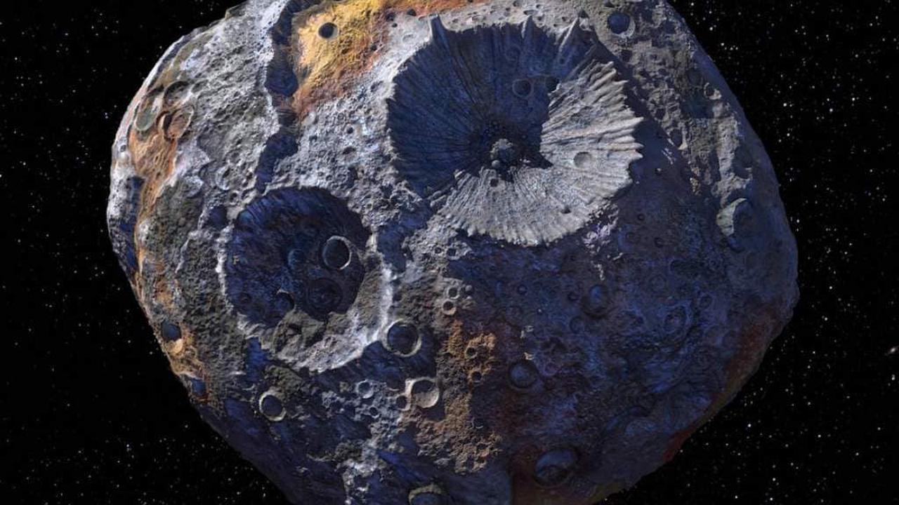 Pas tout cela: l'astéroïde 16 Psyché n'est peut-être pas aussi métallique ou dense qu'on le pensait au départ, selon une étude