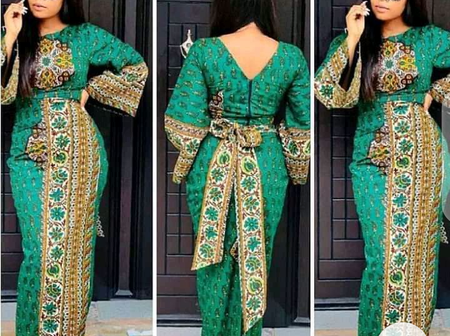 Check Out These 20 Adorable Ankara Long Gown Styles