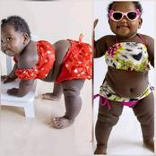 Look Pictures Of A Baby Girl That is Causing Lot Of Reactions On Social Media
