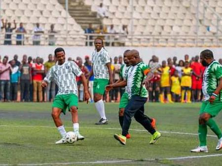 JJ Okocha, Kanu Nwankwo, Others Proved Themselves As Masters Of The Game Once Again