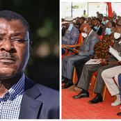Wetangula No Show On Governor Wangamati's Mother Burial