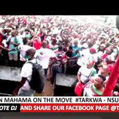 Video: Mahama Pulls Another Huge Crowd In Western Region.