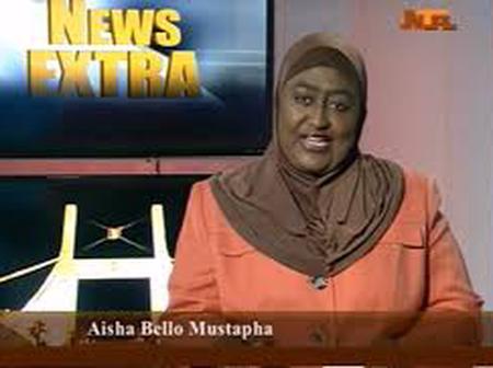Meet Aisha Bello Mustapha, A News Anchor at NTA