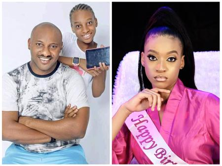 Yul Edochie's Daughter Is 16 Years Old Today, See Beautiful Photos Of How She Has Transformed