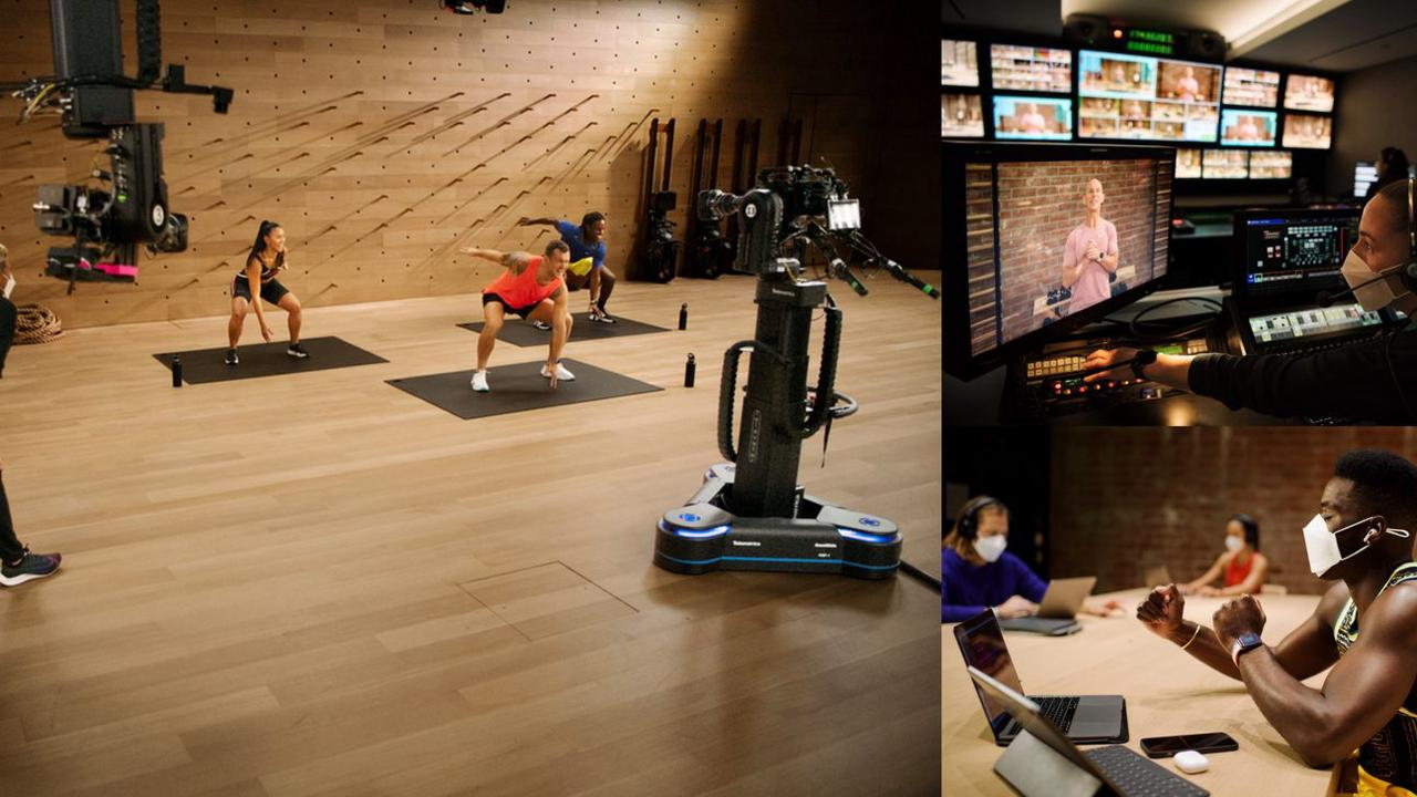 Jay Blahnik offers rare look behind the scenes of the Apple Fitness+ studios