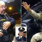 Officer Who Assaulted Army Officer Has Been Fired