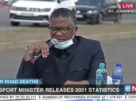 Minister Mbalula is at it again. No need to pay for the venue to release the Easter death toll.