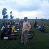 Photos of Nyumba Kumi Learning Start In Bungoma: Where are the Millions of MOE Student's Masks?
