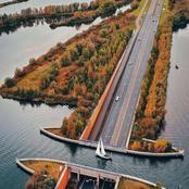 L'architecture de l'aqueduc de Veluwemeer, une merveille pour les yeux