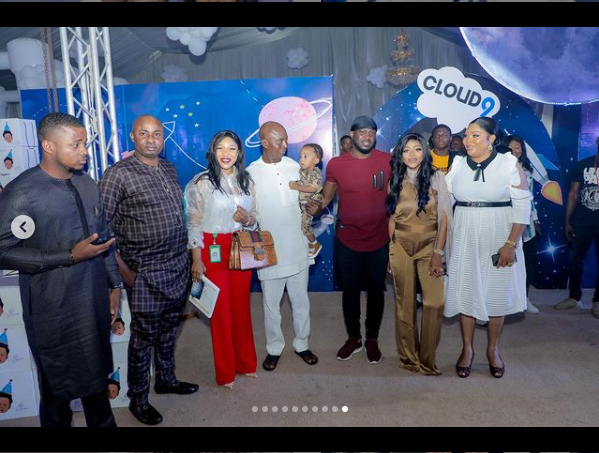 Regina Daniels shares photos from her son