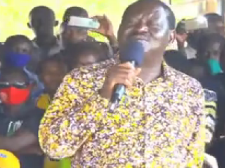 'Huyu Ni Kama Burukenge!' Raila Hits Back At Ruto Over Unfulfilled Promises Made In 2013 And 2017