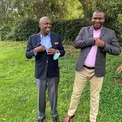 Rashid Echesa Finally Speaks After His Photo With Gideon Moi Went Viral