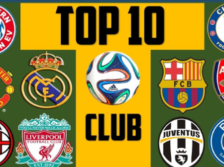 Top 10 World's Richest Football Clubs In 2020 And Their Estimated Value