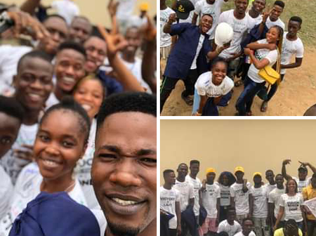 Photos: See Pictures of Graduating Students Celebrating After Writing Their Last Examination Paper
