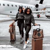 Places That Kefiwe Mabote Has Travelled To Alone & Also With Her Rich and Famous Friends.