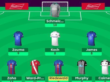 Premier League team for game week 6