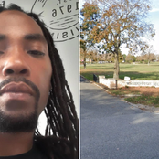 This man was digging someone's grave on Friday, but see what happened to him also