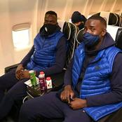Chelsea players finally Arrived France