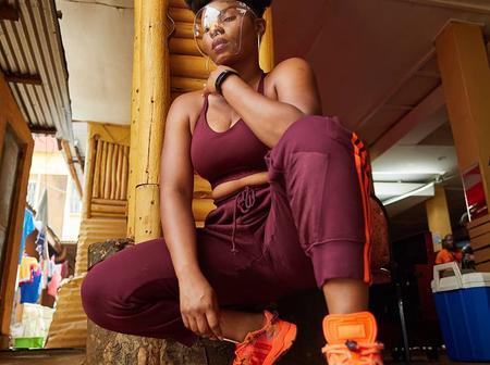 Yemi Alade Looks Stylish in Beyonce's Ivy Park Sportswear