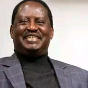 See Raila's Preferred Running Mate In 2022