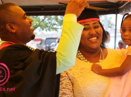 Six times Abeiku Santana Showed his beautiful wife and kids on social media