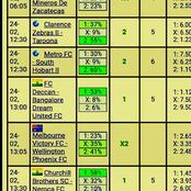Eight Multibet Teams with GG, Over 2.5 and 732.56 Odds to Earn You Brilliantly This Late Night
