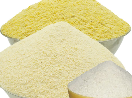 A Basin Of Garri Is No Longer 5000 Naira In Nigeria. Check Out The Current Price
