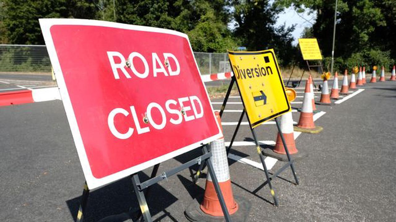 M23 diversion route as road closed between M25 and Gatwick Airport