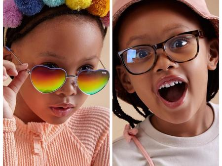 Dj Zinhle and AKA has now collaborated with their daughter collection of glasses.