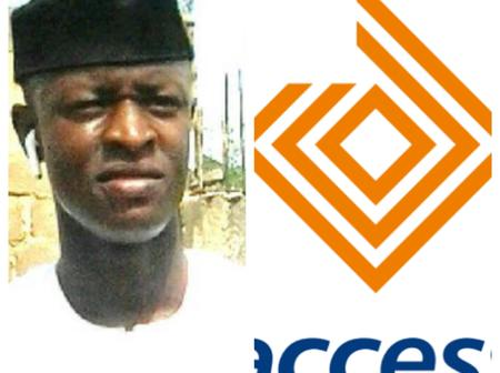 After a man asked Access bank to return his money, see what they told him that made people angry