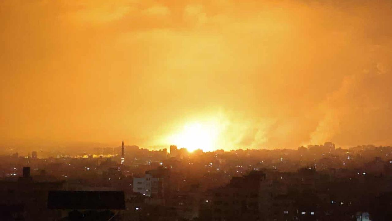Israel air and ground forces hit targets in Gaza Strip as death toll climbs