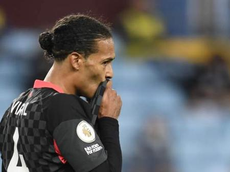 Van Dijk Speaks On Mane's Absence And Why They Lost 7-2 To Aston Villa