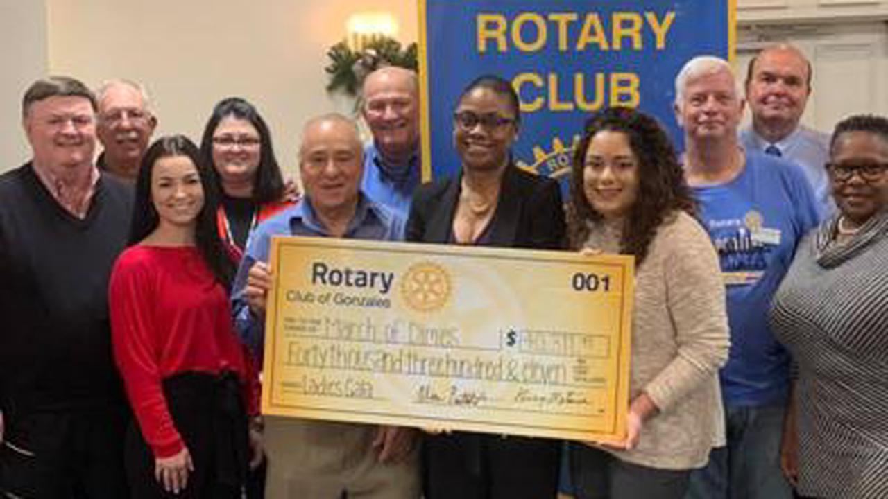 Gonzales Rotary raises money for healthy moms, babies through its High Heels for High Hopes gala