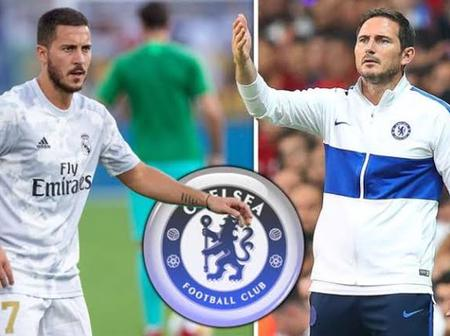 Check out the main reasons Lampard may not be regretting Eden Hazard's exit to Madrid.