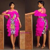 Classy Ladies, Checkout Extraordinary Organza Styles Mixed With African Print