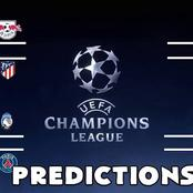 Well Analysed UEFA Champions league Picks ie Chelsea,Bayern,Real Madrid,Manchester city