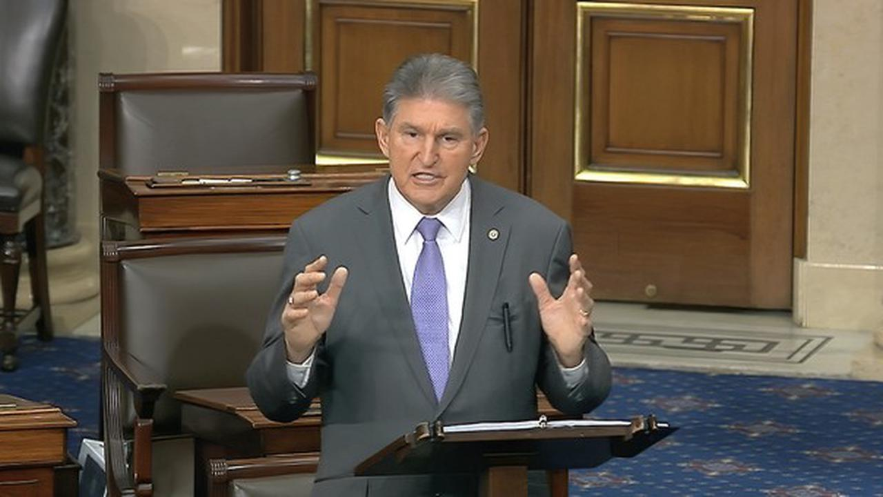 Suspense: Manchin's support for GOP amendment on unemployment benefits threatens to upend Dems' COVID bill