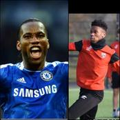 Didier Drogba's Son Follows His Father's Footsteps As He Aims For Greatness. See Pictures Of Him