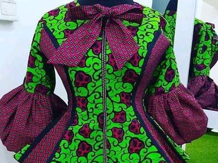 20 Amazing Ankara blouses designs for Christmas