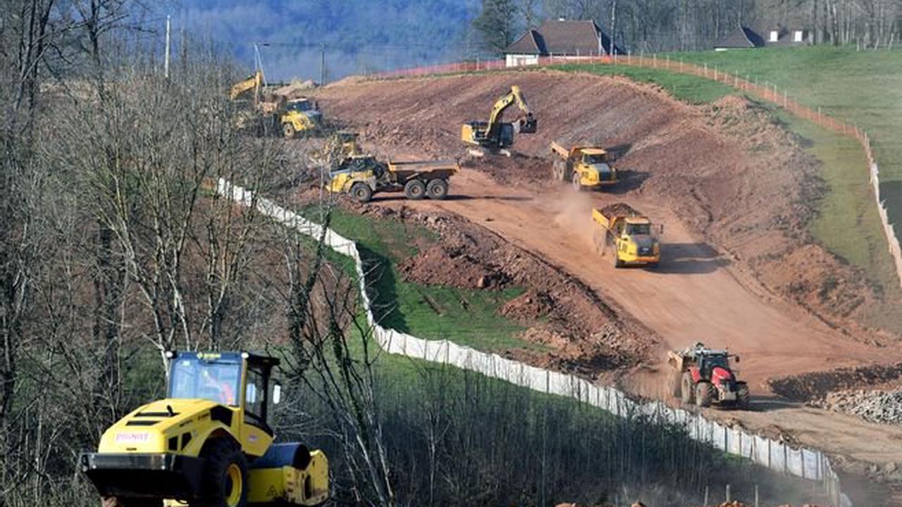 Circulation - La route de Beynat, à la sortie de Brive/Malemort (Corrèze), interdite à la circulation durant cinq jours