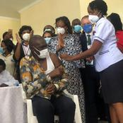 Kenyans React After Dr Patrick Amoth Became the First Kenyan to be Vaccinated