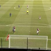 Arsenal Player Just Assisted His Opponent In Scoring Them. See Photos Of What Happened