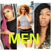Check Out Photos Of Bobrisky And 2 Other Nigerian Men Who Dress And Act Like Women