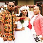 See Beautiful Photos Of Sido And Manana's Wedding Day (Photos Inside)