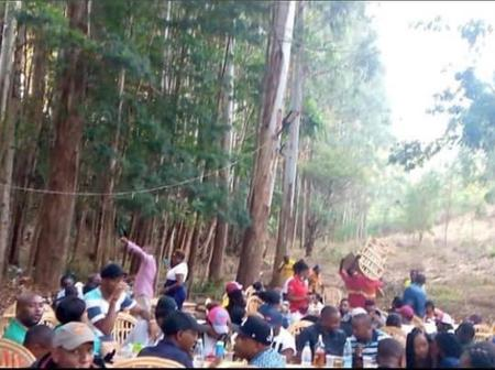 Check Out a Group of Kenyans Who Were Spotted Having Fun in The Forest