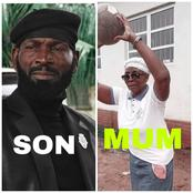 Meet Sylvester Madu and his lovely Mother