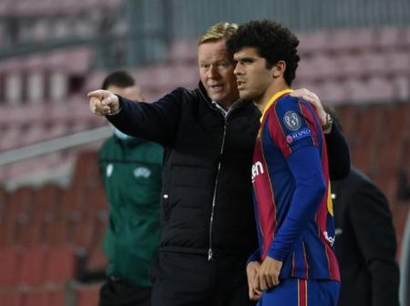 Barcelona Talent Asks To Be Out