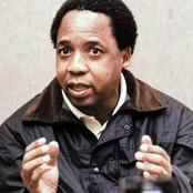 ANC Top Member To Expose Who Killed Chris Hani, Spills Beans On Former Minister's Shenanigans