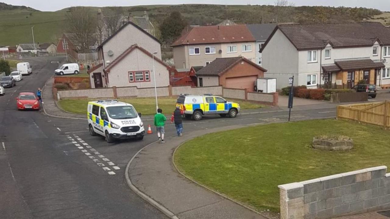 Fife police launch probe as man hospitalised following crash