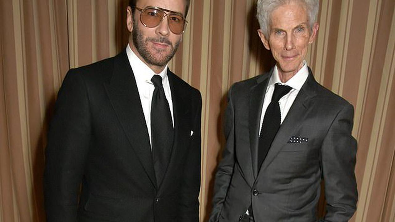 Tom Ford's husband and partner of 35 years Richard Buckley dies, aged 72, of natural causes